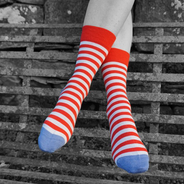 Women's summer Stripe sock