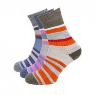 Ladies Multi Stripe Sock