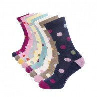 Ladies Spotty Sock