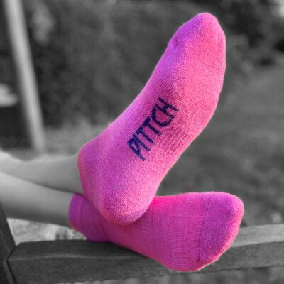 pink trainer liner