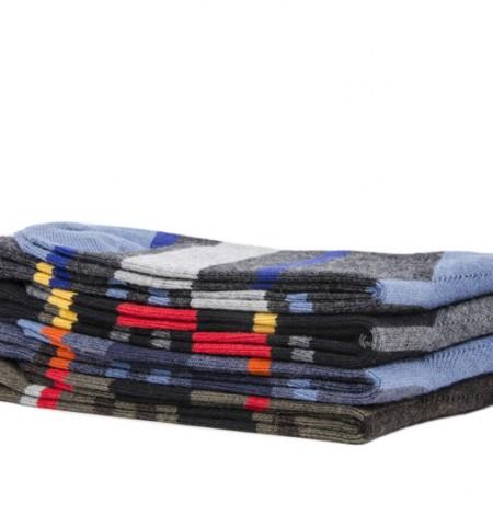 Men's Multi Stripe Sock