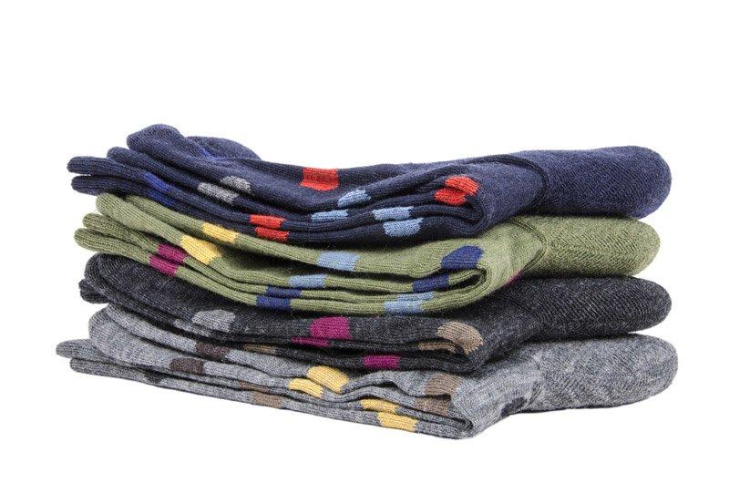 Men's Spotted Sock