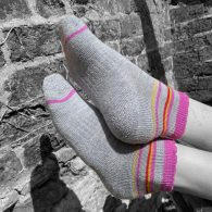 PITTCH Mini Ankle Stripe sock